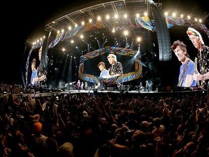 The Rolling Stones, en la Ciudad Deportiva de la Habana, en 2016.