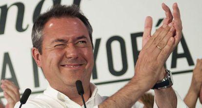 El futuro alcalde de Sevilla, Juan Espadas, el pasado 24 de mayo, en Sevilla.