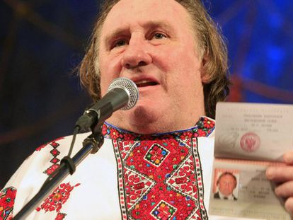 De Obelix el galo a Depardieu el ruso