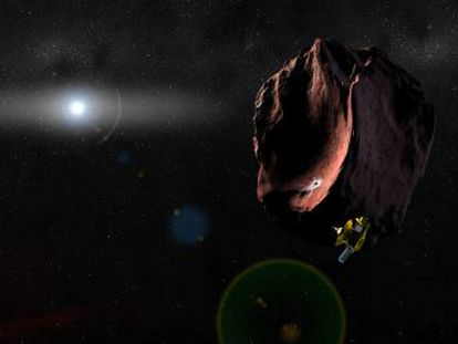 La sonda de la NASA 'New Horizons' explora Ultima Thule a más de 6.000 millones de kilómetros de la Tierra