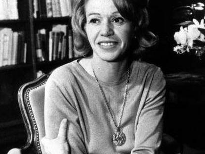 La escritora mexicana Elena Garro, fotografiada en los años setenta.