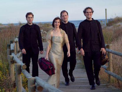 El cuarteto Casals en una fotografía de archivo.