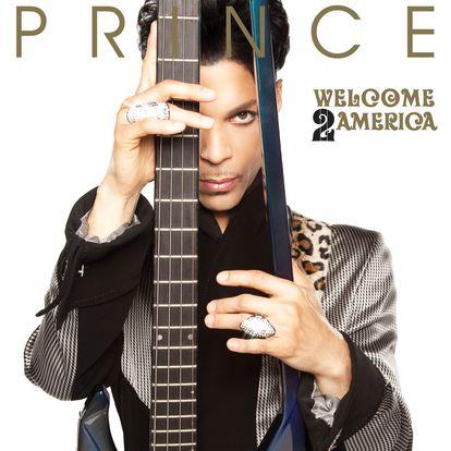 Portada del disco 'Welcome 2 America' de Prince by Prince.