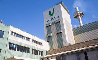 Factoría de Vidrala en Llodio (Álava).