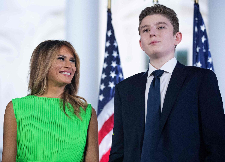 Barron, el hijo de Donald Trump famoso a su pesar | Gente | EL PAÍS