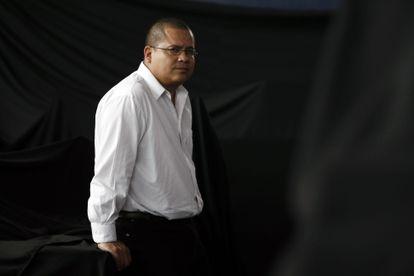"""El escritor mexicano Julián Herbert, autor de """"La Casa del Dolor Ajeno""""."""