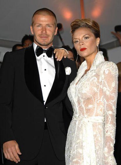El matrimonio Beckham.