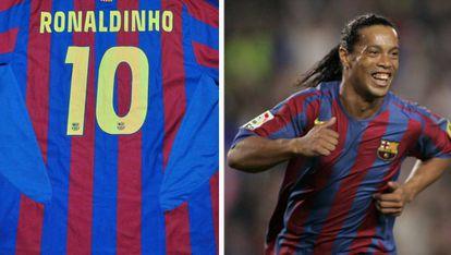 La sonrisa nunca se borró del rostro de Ronaldinho. El astro brasileño devolvió la esperanza a los aficionados azulgranas.