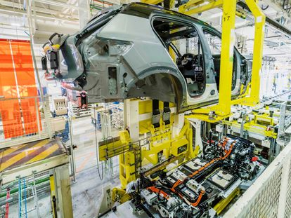 Fábrica de ensamblaje de vehículos de Volvo.
