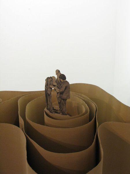 Una de las obras de Alfonso Berridi que se expone en el Círculo de Bellas Artes.