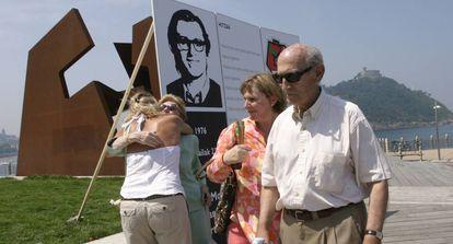 Homenaje a Pertur en 2006, al cumplirse 30 años de su desaparición.