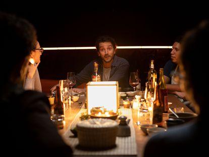 El actor y cineasta Diego Luna, en un nuevo episodio de 'Pan y Circo'.