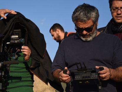 Muhammad Rasoulof, en el rodaje de 'La vida de los demás (There Is No Evil)'.