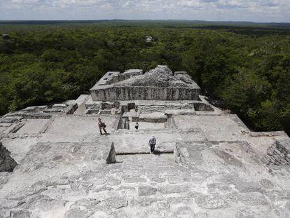 Calakmul, una de las paradas previstas por el Tren Maya.