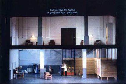 """Imagen de la escenografía del montaje del Covent Garden para 'Ariadne auf Naxos""""."""
