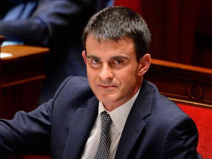 Manuel Valls en 2014, recién nombrado primer ministro del gobierno socialista