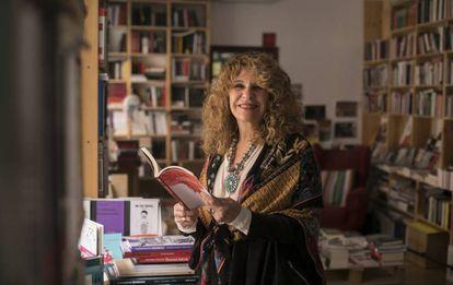 La escritora Gioconda Belli, el pasado sábado, en Madrid.