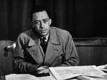 El escritor francés Albert Camus, en una imagen de archivo.