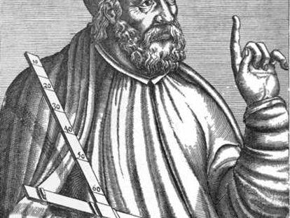 Un retrato medieval de Ptolomeo, de autor desconocido, aparecido en un volumen de 'Popular Science' de 1911.