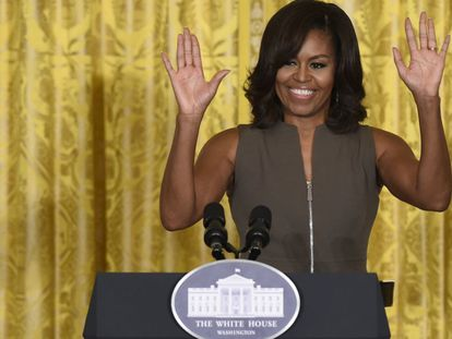 Michelle Obama, primera dama de EE UU.