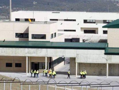 Exterior de la nueva cárcel de Zaballa, en Álava, que sustituye a la de Nanclares de la Oca.