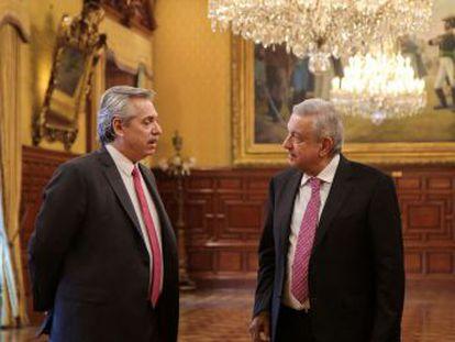 López Obrador pone de manifiesto que la política exterior no es una de sus prioridades en su encuentro con Alberto Fernández