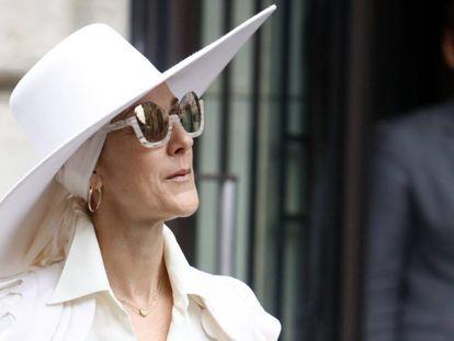 Céline Dion, el pasado verano en París.