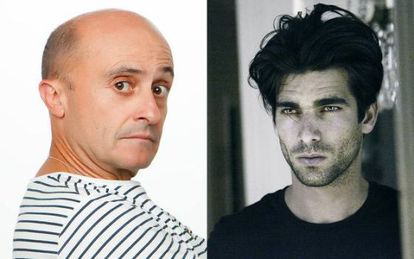 Pepe Viyuela y Rubén Cortada, protagonistas de 'Olmos y Robles'.