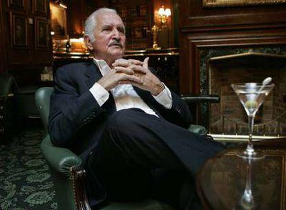 Carlos Fuentes, fotografiado el año pasado en Madrid.