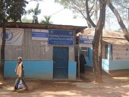 Imagen del campo de refugiados de rohinyá en Ukhia (Bangladés).