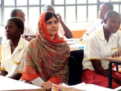 Malala Yousafzai, protagonista del documental 'Él me llamó Malala'.