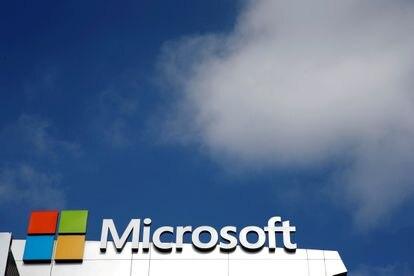 Sede de Microsoft en Los Angeles, California.