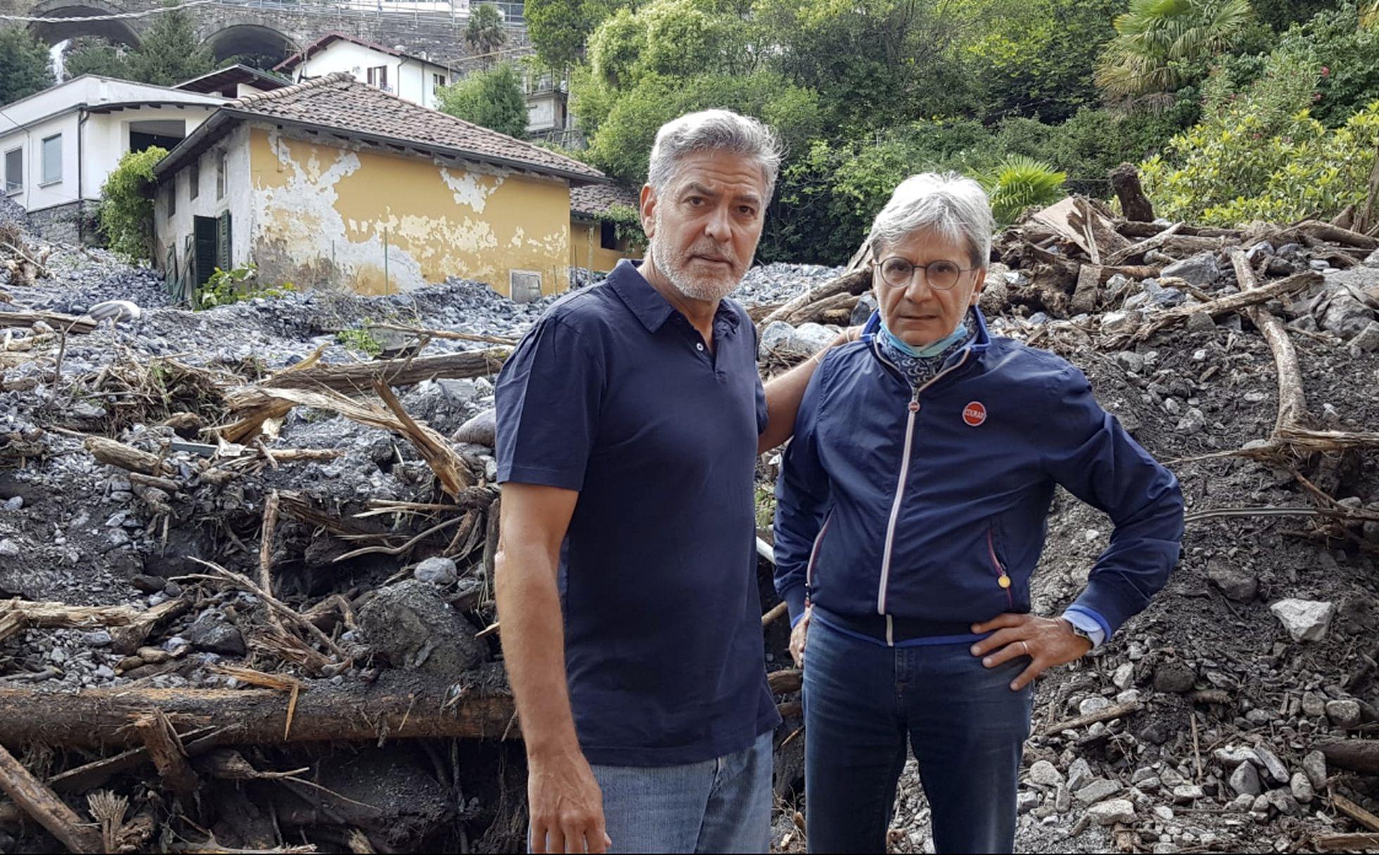 Italia: George Clooney se vuelca para ayudar en las inundaciones del Lago  Como, donde tiene una casa hace 20 años | Gente | EL PAÍS