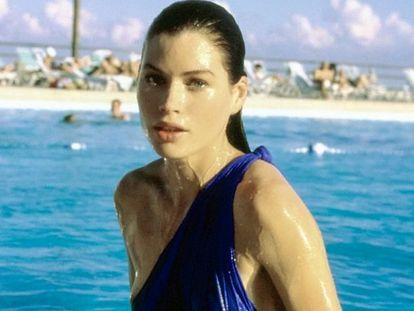 La modelo estadounidense Carré Otis.
