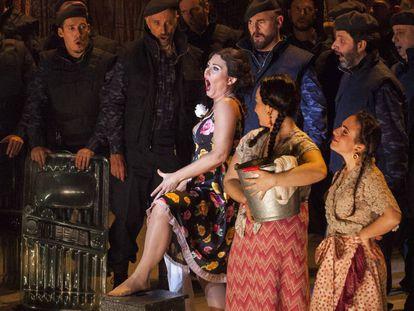 Un momento de 'Carmen', en la Opera di Firenze.