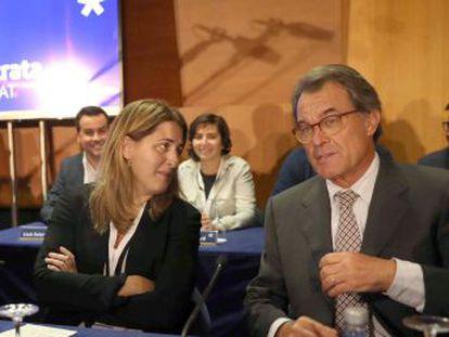 La jefa de filas, Marta Pascal, niega que haya un escenario de adelanto electoral