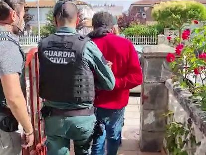 La Guardia Civil detiene, el pasado 1 de agosto, a uno de los integrantes de la banda de los 'Hermanos Koala' por la agresión a un joven de Amorebieta (Bizcaia).