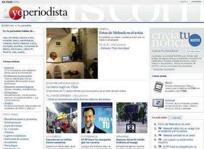 Imagen de la portada del espacio de periodismo ciudadano de ELPAÍS.com.