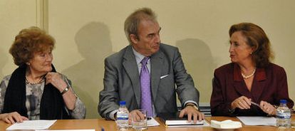 El profesor Jesús Neira, durante la toma de posesión como presidente del Observatorio Regional contra la Violencia de Género en 2009.