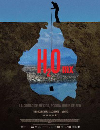 Cartel del documental H2Omx.