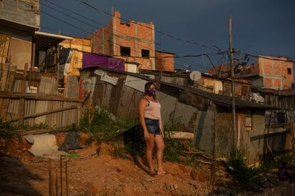 Maura Lopes, líder comunitaria en Ocupação Esperança.