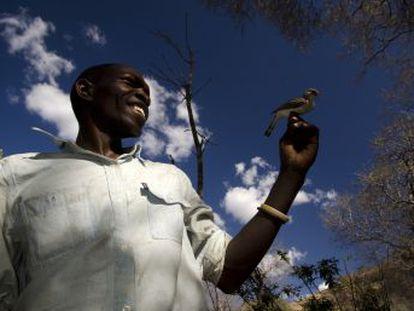 Una especie de pájaros se comunica con los miembros de una tribu africana para buscar miel