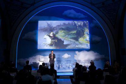 Presentación de Google Art en el Museo de Orsay