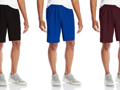 Los shorts deportivos de la marca Champion, que vienen en seis colores distintos