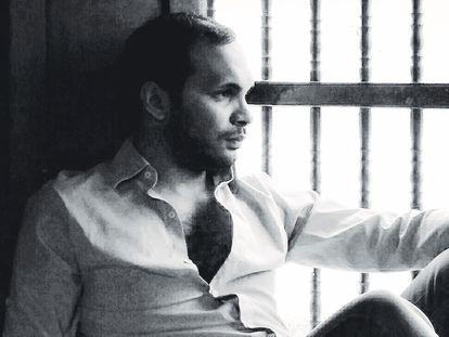 La única foto que existe de Rafael Cabaliere, Premio Espasa de Poesía 2020.