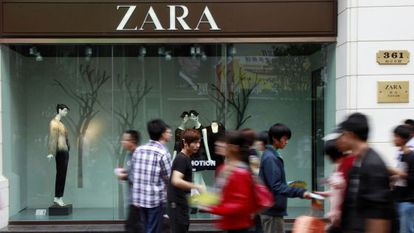 Una tienda de Zara en Shanghái (China).
