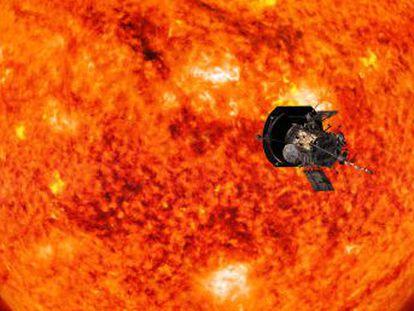 La sonda  Parker  se zambulle en la atmósfera solar, un ambiente a un millón de grados dominado por vientos de 150 kilómetros por segundo