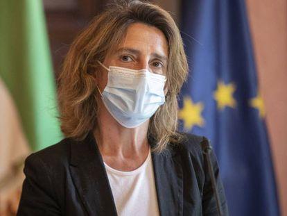 Teresa Ribera, vicepresidenta cuarta del Gobierno y ministra para la Transición Ecológica.