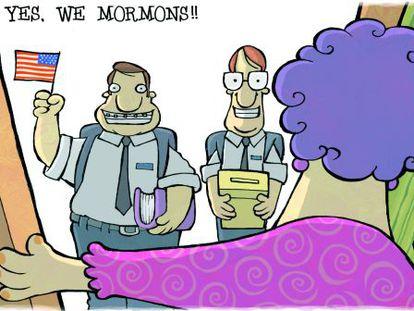 El mormón avanza