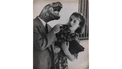 Sueño Nº 28, Amor sin ilusión, 1951, de Grete Stern. |